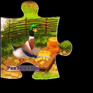 PaxToy.com - 04 Уточка наризает сыр из Звени Гора (Звенигора): Пазл «Збери веселу ферму»