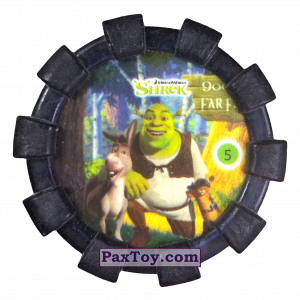 PaxToy.com - 05 Шрек и Осел (Резиновый бампер) из Cheetos: Shrek (Blaster)