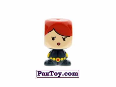 PaxToy.com - 06 BLACK WIDOW из Varus: MARVEL Mania (Blokhedz)