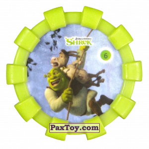 PaxToy.com - 06 Шрек и Осел (Резиновый бампер) из Cheetos: Shrek (Blaster)