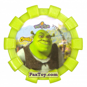 PaxToy.com - 06 Шрек и Осел (Резиновый бампер) (Сторна-back) из Cheetos: Shrek (Blaster)