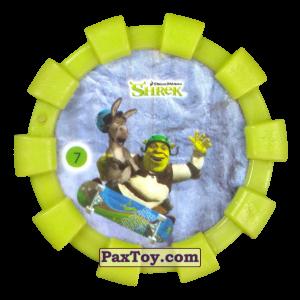 PaxToy.com - 07 Шрек и Осел (Резиновый бампер) из Cheetos: Shrek (Blaster)