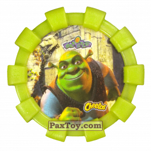 PaxToy.com - 07 Шрек и Осел (Резиновый бампер) (Сторна-back) из Cheetos: Shrek (Blaster)