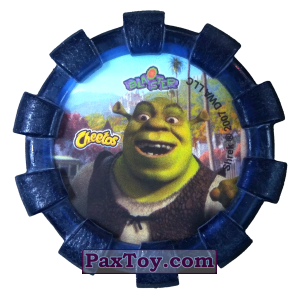 PaxToy.com - 08 Шрек и Осел и Кот в сапогах (Сторна-back) из Cheetos: Shrek (Blaster)