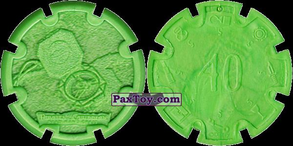 PaxToy.com - 10 Compass - Пиратский дублон (Сторна-back) из Estrella: Пираты Карибского моря: Сундук мертвеца
