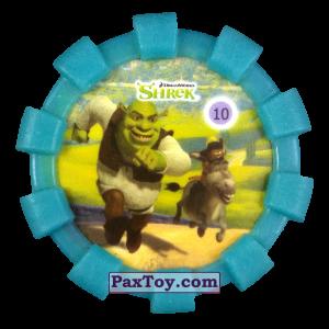 PaxToy.com - 10 Шрек и Осел (Резиновый бампер) из Cheetos: Shrek (Blaster)