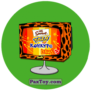 PaxToy.com - 38 из Cheetos: The Simpsons Tazo