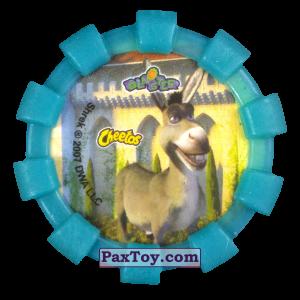 PaxToy.com - 10 Шрек и Осел (Резиновый бампер) (Сторна-back) из Cheetos: Shrek (Blaster)