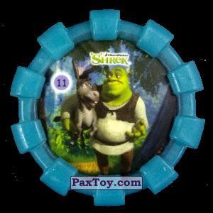 PaxToy.com - 11 Шрек и Осел (Резиновый бампер) из Cheetos: Shrek (Blaster)