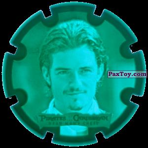 PaxToy.com - 11 William Turner Jr. - Пиратский дублон из Estrella: Пираты Карибского моря: Сундук мертвеца