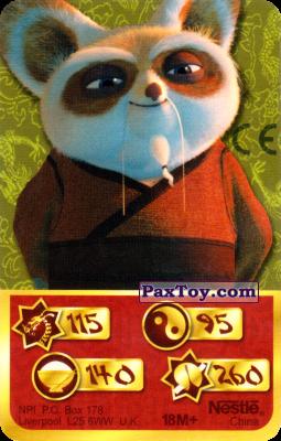 PaxToy.com - 115 Скорость Дракона - Shifu из Kosmostars: Карты «Кто Сильнее?»