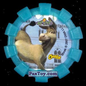PaxToy.com - 11 Шрек и Осел (Резиновый бампер) (Сторна-back) из Cheetos: Shrek (Blaster)