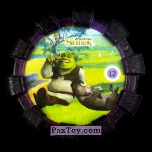 PaxToy.com - 12 Шрек и Осел (Резиновый бампер) из Cheetos: Shrek (Blaster)