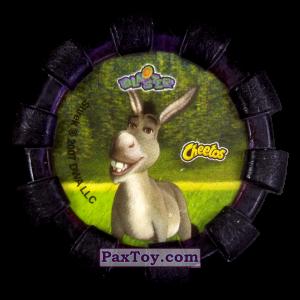 PaxToy.com - 12 Шрек и Осел (Резиновый бампер) (Сторна-back) из Cheetos: Shrek (Blaster)