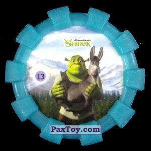 PaxToy.com - 13 Шрек и Осел (Резиновый бампер) (Сторна-back) из