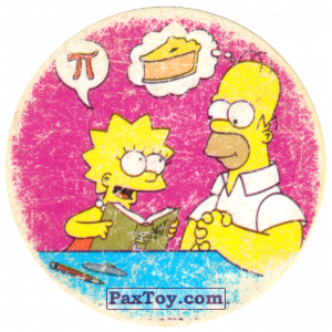 PaxToy.com - 13 Термоядерная семейка! - Пи это Пончик из Cheetos: The Simpsons Tazo