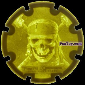 PaxToy.com - 13 Sparrow skull - Пиратский дублон из Estrella: Пираты Карибского моря: Сундук мертвеца