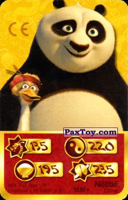PaxToy.com - 135 Скорость Дракона - Po Panda, Mr. Ping из Kosmostars: Карты «Кто Сильнее?»