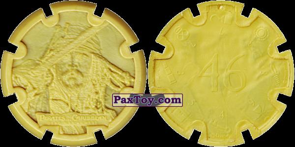 PaxToy.com - 15 Jack Sparrow - Пиратский дублон (Сторна-back) из Estrella: Пираты Карибского моря: Сундук мертвеца