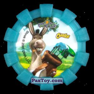 PaxToy.com - 15 Шрек и Осел (Резиновый бампер) (Сторна-back) из Cheetos: Shrek (Blaster)