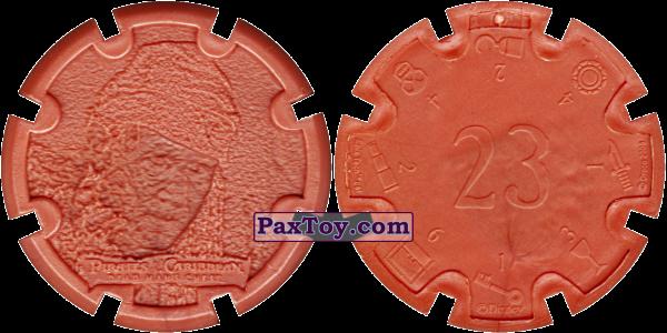 PaxToy.com - 17 William Turner Sr. (Bootscrap Bill) - Пиратский дублон (Сторна-back) из Estrella: Пираты Карибского моря: Сундук мертвеца