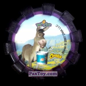 PaxToy.com - 17 Шрек и Осел (Резиновый бампер) (Сторна-back) из Cheetos: Shrek (Blaster)