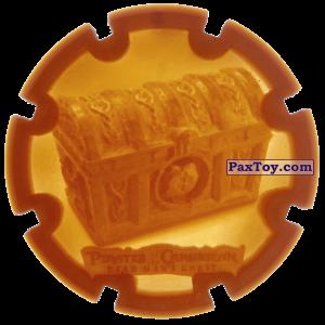PaxToy.com - 20 Treasure Chest - Пиратский дублон из Estrella: Пираты Карибского моря: Сундук мертвеца