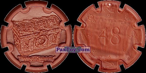 PaxToy.com - 20 Treasure Chest - Пиратский дублон (Сторна-back) из Estrella: Пираты Карибского моря: Сундук мертвеца