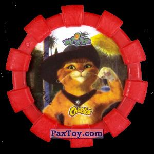 PaxToy.com - 21 Шрек, Осел и Кот в сапогах (Резиновый бампер) (Сторна-back) из Cheetos: Shrek (Blaster)