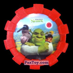 PaxToy.com - 23 Шрек и Осел и Кот в сапогах (Резиновый бампер) из Cheetos: Shrek (Blaster)