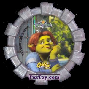PaxToy.com - 24 Шрек и Фиона (Резиновый бампер) (Сторна-back) из Cheetos: Shrek (Blaster)