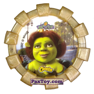 PaxToy.com - 25 Шрек, Фиона Осел и Кот в сапогах (Резиновый бампер) (Сторна-back) из Cheetos: Shrek (Blaster)