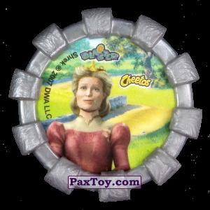 PaxToy.com - 28 Фиона (Резиновый бампер) (Сторна-back) из Cheetos: Shrek (Blaster)