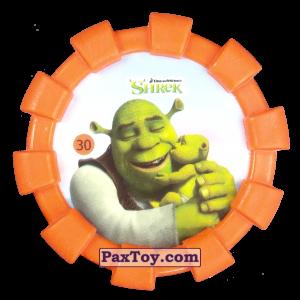 PaxToy.com - 30 Шрек и ребенок (Резиновый бампер) из Cheetos: Shrek (Blaster)