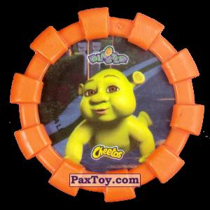 PaxToy.com - 30 Шрек и ребенок (Резиновый бампер) (Сторна-back) из Cheetos: Shrek (Blaster)