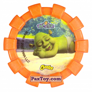 PaxToy.com - 31 Felicia Farkel Fergus (Резиновый бампер) (Сторна-back) из Cheetos: Shrek (Blaster)