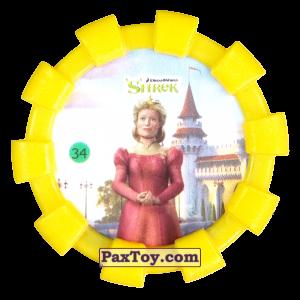 PaxToy.com - 34 Королева Лилиан (Резиновый бампер) из Cheetos: Shrek (Blaster)