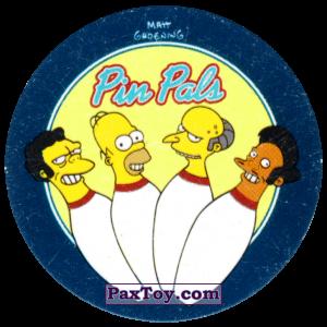 PaxToy.com - 34 Жизнь в спорте! - Команда по боулингу Pin Pals из Cheetos: The Simpsons Tazo