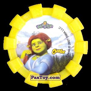 PaxToy.com - 34 Королева Лилиан (Резиновый бампер) (Сторна-back) из Cheetos: Shrek (Blaster)