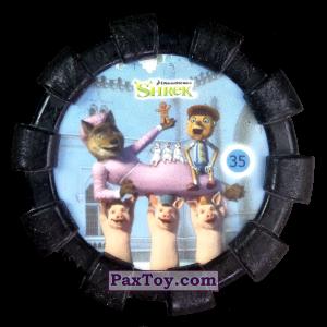 PaxToy.com - 35 Пряничный человечек Волк Три поросенка Три слепых мыши и Пиноккио (Резиновый бампер) из Cheetos: Shrek (Blaster)