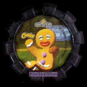 PaxToy.com - 35 Пряничный человечек Волк Три поросенка Три слепых мыши и Пиноккио (Резиновый бампер) (Сторна-back) из Cheetos: Shrek (Blaster)
