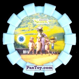 PaxToy.com - 36 Пряничный человечек Волк Три поросенка Три слепых мыши и Пиноккио (Резиновый бампер) из Cheetos: Shrek (Blaster)