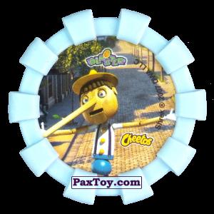 PaxToy.com - 36 Пряничный человечек Волк Три поросенка Три слепых мыши и Пиноккио (Резиновый бампер) (Сторна-back) из Cheetos: Shrek (Blaster)