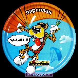 PaxToy.com - 37 Параплан - Металлическая фишка из Cheetos: Экстрим спорт (железные)