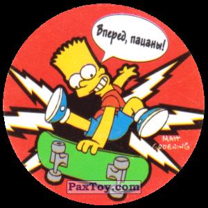 PaxToy.com - 37 Жизнь в спорте! - Вперед, пацаны! из Cheetos: The Simpsons Tazo