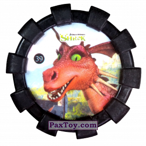 PaxToy.com - 39 Дракон (Резиновый бампер) из Cheetos: Shrek (Blaster)