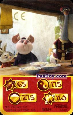 PaxToy.com - 65 Скорость Дракона - Mop Bunny, Stain Pig, Mr. Ping из Kosmostars: Карты «Кто Сильнее?»