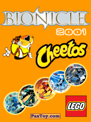 PaxToy Cheetos: Bionicle 2001