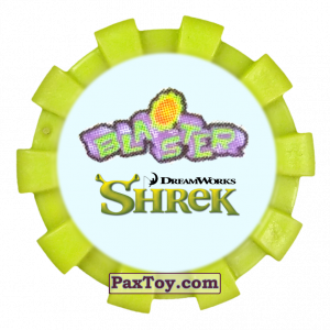 PaxToy.com  Фишка / POG / CAP / Tazo 40 из Cheetos: Shrek (Blaster)