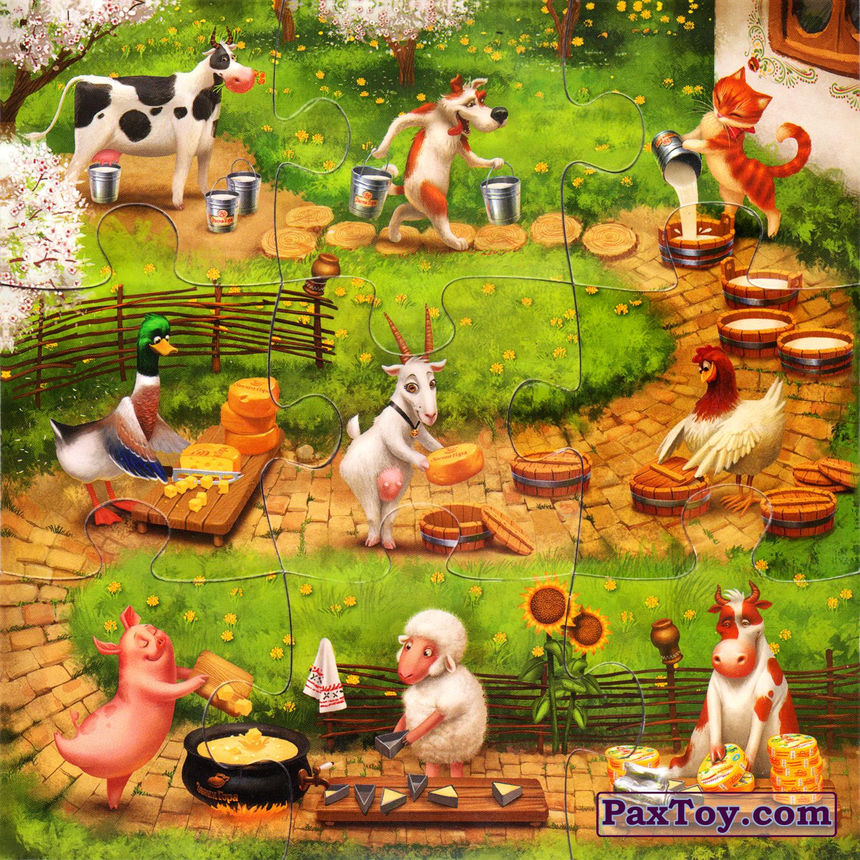 Собраный пазл - «Збери веселу ферму»